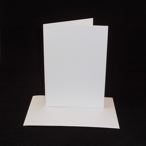 A4 white greeting card blanks only no envelopes m4hsunfo
