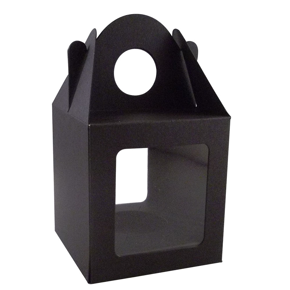 Large Black Cake Boxes
