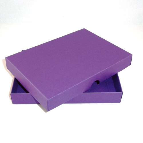5 X 7 Purple Greeting Card Boxes For Handmade Cards
