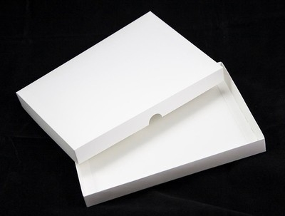 5x7 White Greeting Card Boxes For Handmade Cards