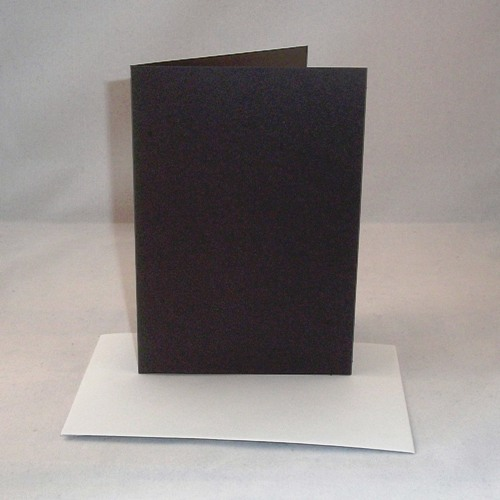 A4 black greeting card blanks with envelopes m4hsunfo