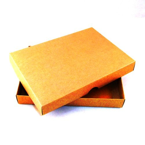 A4 brown kraft greeting card boxes for handmade cards m4hsunfo