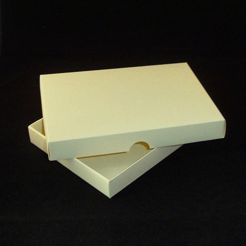 A4 ivory greeting card boxes for handmade cards m4hsunfo
