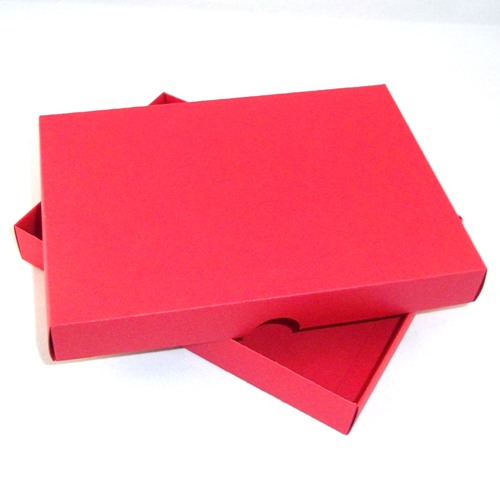 A5 red greeting card boxes for handmade cards m4hsunfo