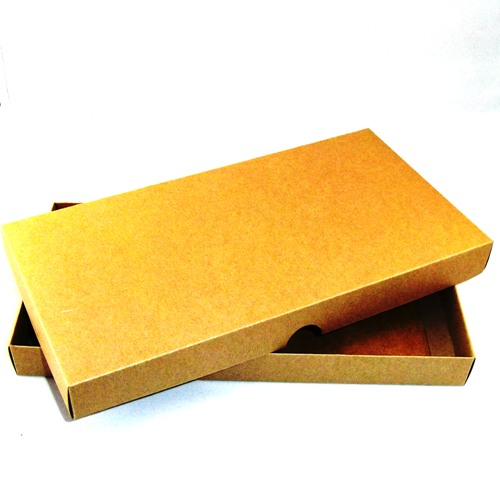 Dl brown kraft greeting card boxes for handmade cards m4hsunfo