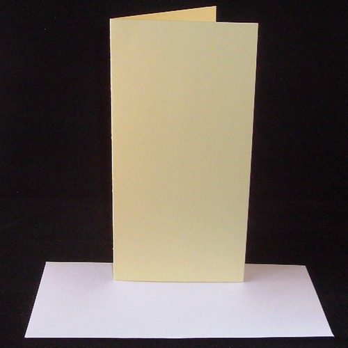 Dl cream greeting card blanks with envelopes m4hsunfo
