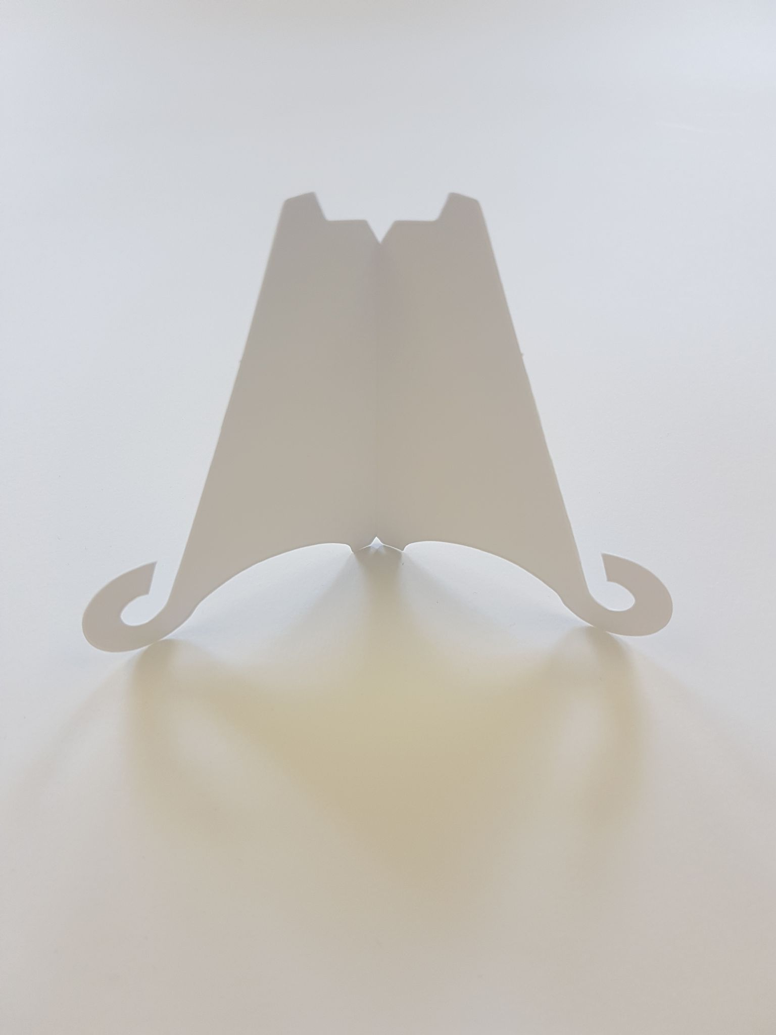 50 small white greeting card display stands m4hsunfo