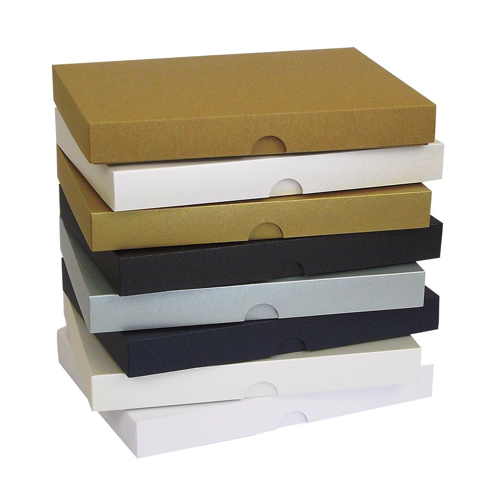 Wedding Card Gift Boxes: A6 Pearlescent Greeting Card Boxes Invite Wedding Gift Box