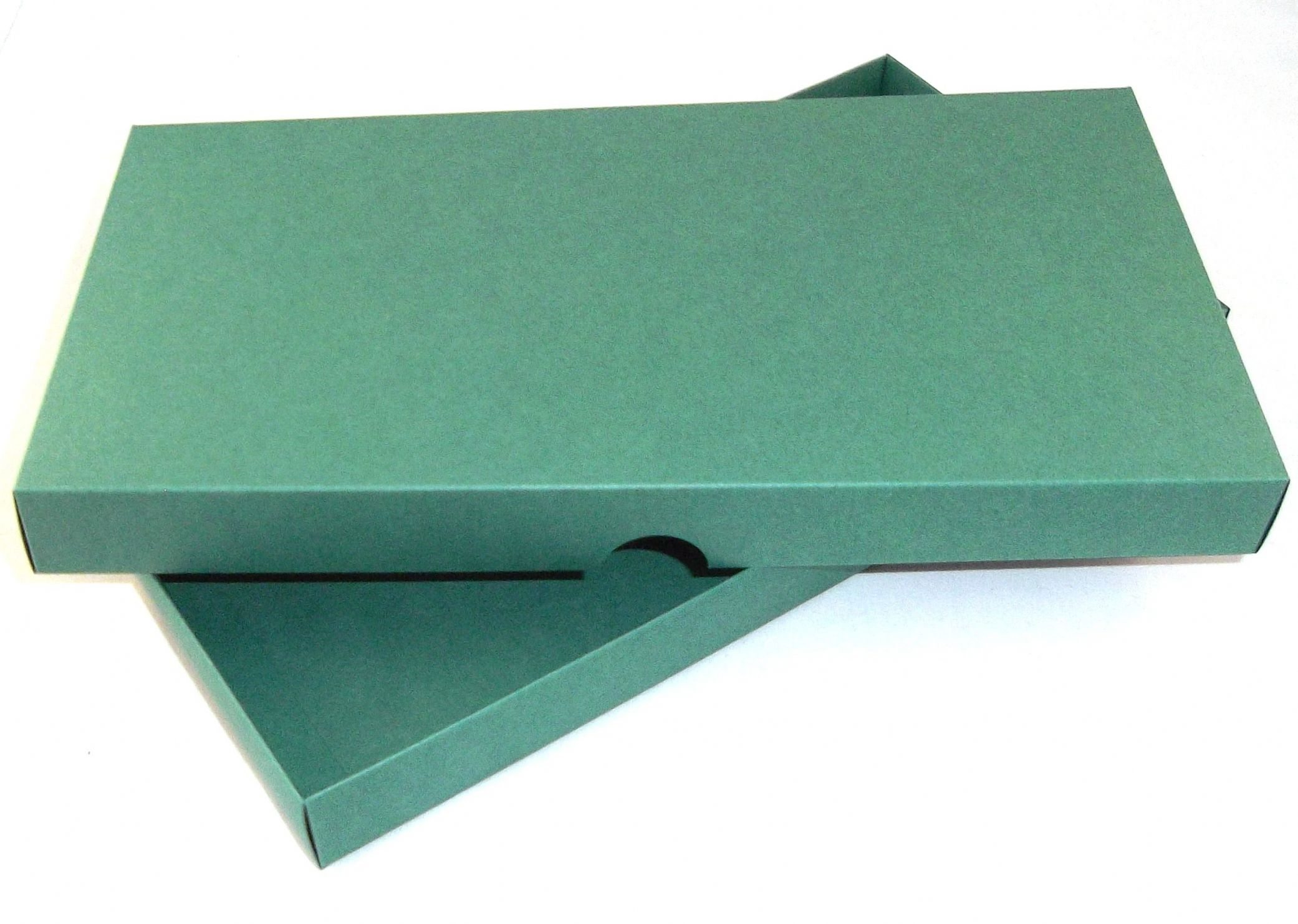 Dl Green Greeting Card Boxes For Handmade Cards